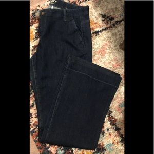 Classic and timeless denim trouser jeans